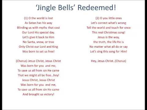 photograph about Jingle Bells Lyrics Printable called Jingle Bells Redeemed