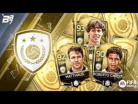 BRAND NEW ICON SYSTEM! VAN BASTEN, ROBERTO CARLOS AND MATTHÄUS SBC!  FIFA MOBILE