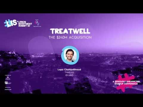 "#LIS16 | Keynote: ""Treatwell - The $240M acquisition"" by Lopo Champalimaud"