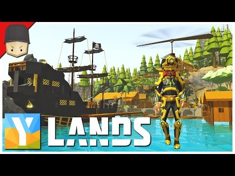 YLANDS - Propeller Pack & Mining Drill! : Ep.28 (Survival/Crafting/Exploration/Sandbox Game)