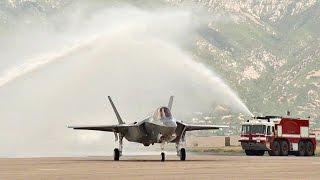 Combat-coded F-35A Lightning II Aircraft Arrive At Hill Air Force Base