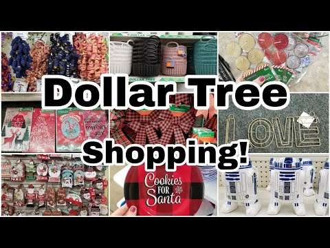 Dollar Tree Shop With Me • Amazing New Christmas Items & More!