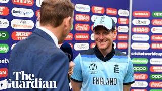 England in a World Cup final sounds 'pretty cool,' says Eoin Morgan after victory