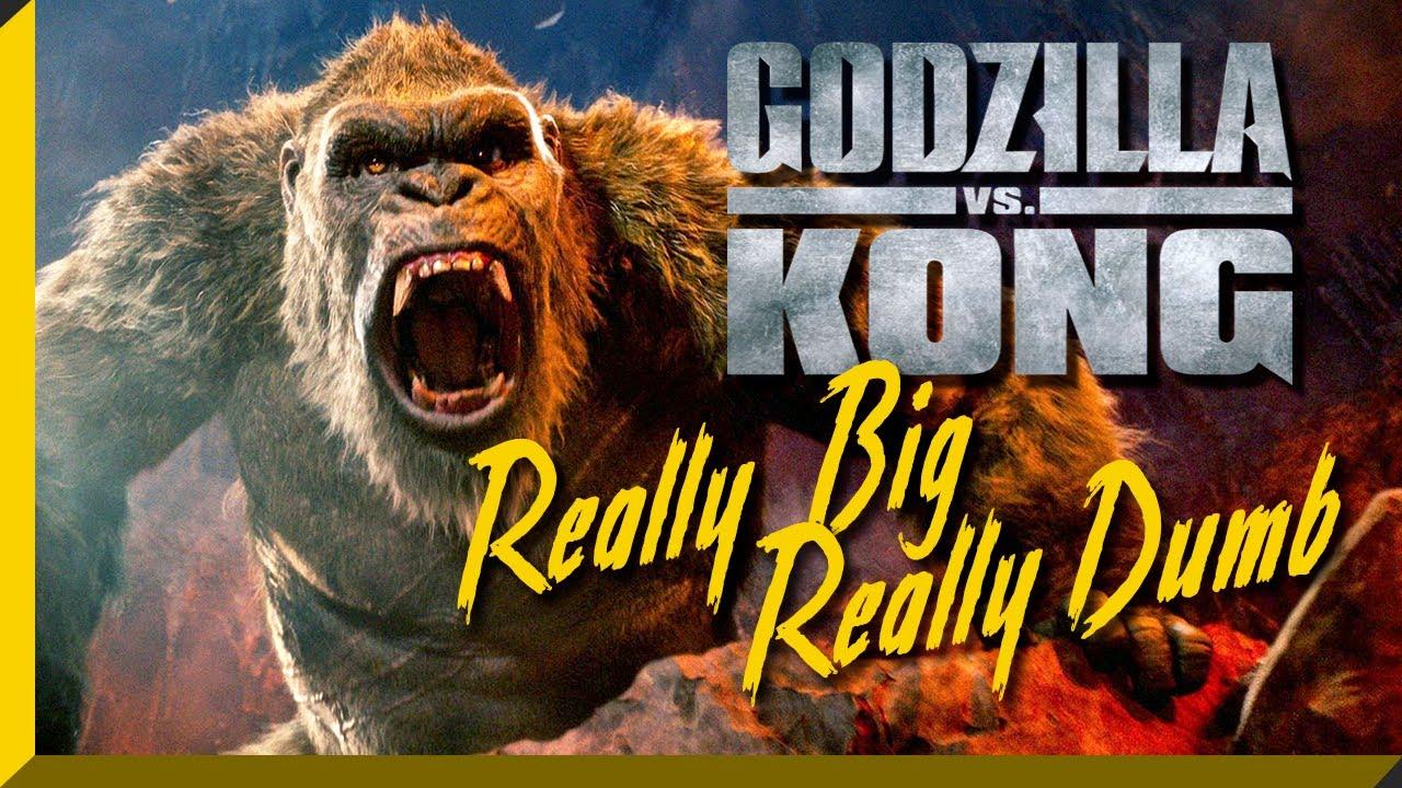 Godzilla vs Kong is Really Big & Really Dumb