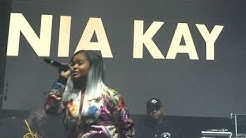 Nia Kay opens up for Lil Wayne With 2 MICS