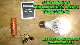 Download Video Mini Inverter 3,7 volt DC to 220 volt ac untuk lampu emergency MP3 3GP MP4