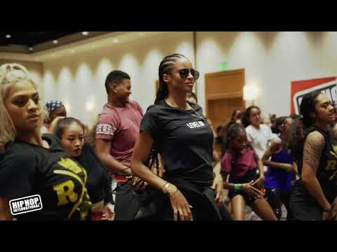 Ciara and Parris Surprise Hip Hop International 2018