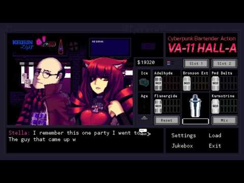 Der Wirre Poet - VA-11 Hall-A Part 13