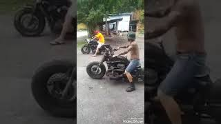 Moto Fusca Metal Punk