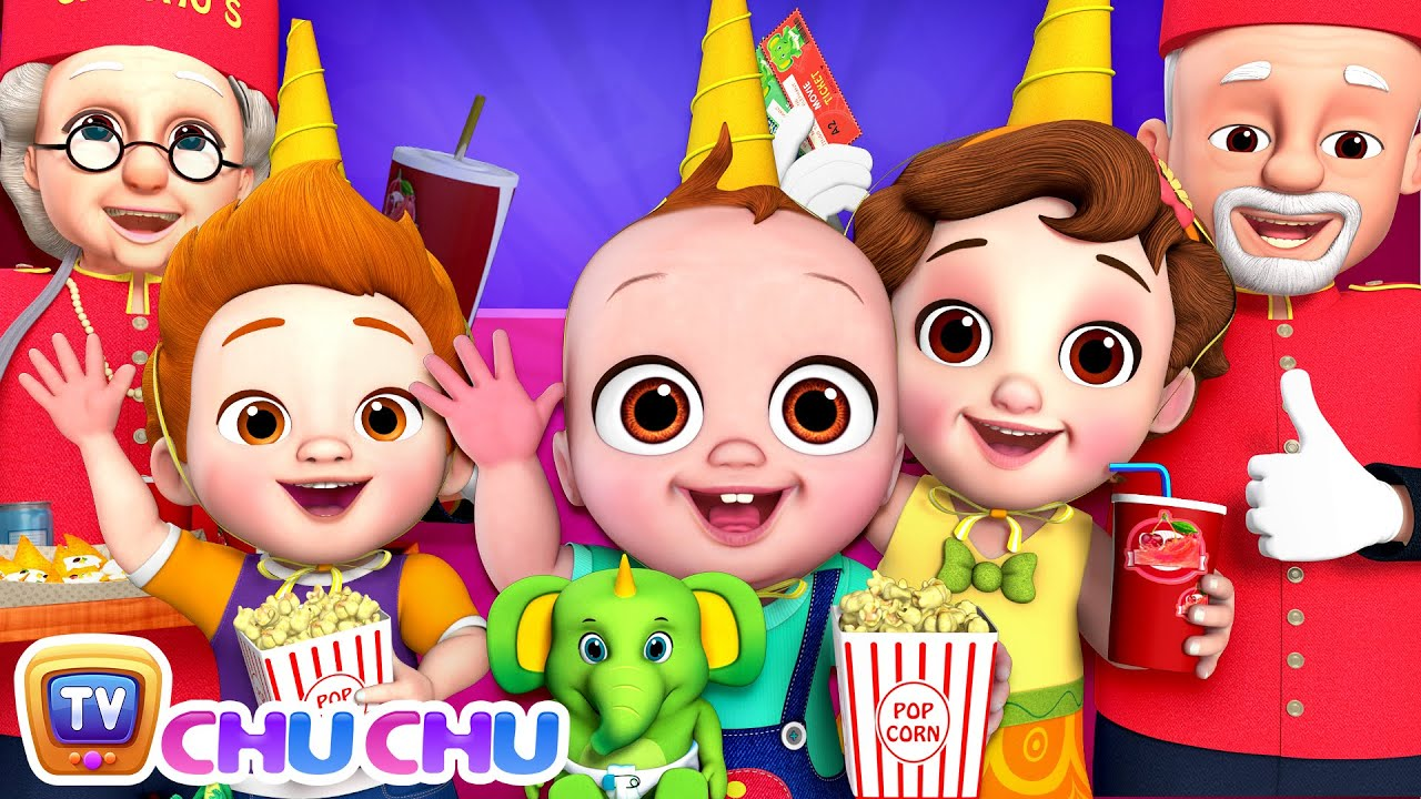 Movie at Home Song - ChuChu TV Baby Nursery Rhymes & Kids Songs