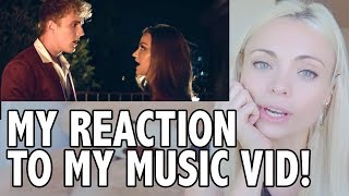 Official Music Video 'Come Thru' Jake Paul Erika Costell - Reaction Video! | Katja Glieson