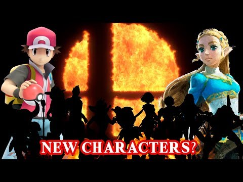 Super Smash Bros Switch  Top 10 Newcomer Characters!