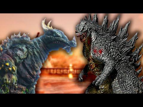 Legendary Godzilla Vs TOHO Classic Anguirus!  [Very Brutal Fights] [Full Movie]