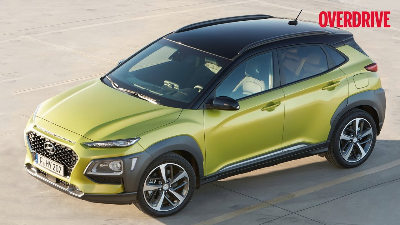 2018 Hyundai Kona Subcompact Suv Revealed In Korea Details And Specifications Overdrive