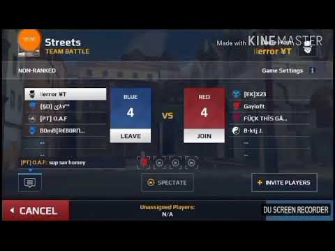 Team battle with pro gamers  mc5