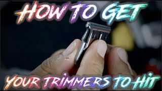How To Sharpen and Zero Gap Your Trimmers