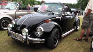 vw aircooled beetle convertible 1303 @ duisburg 2013