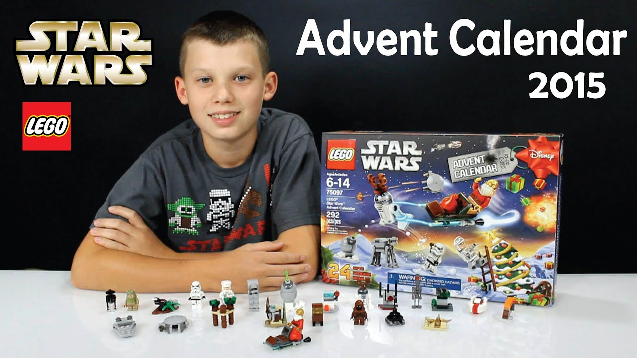 2015 LEGO STAR WARS Christmas Advent Calendar Set No. 75097 - YouTube