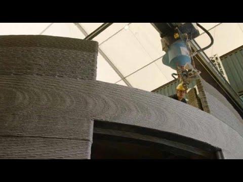 شاهد: بناء منزل في بلجيكا بفضل طابعة عملاقة ثلاثية الأبعاد…  - نشر قبل 4 ساعة