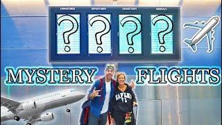 I TOOK MY MOM ON A MYSTERY FLIGHT ACROSS THE WORLD!