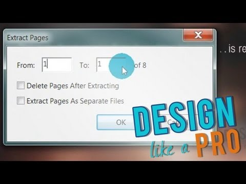 how to delete pages in a pdf in adobe reader