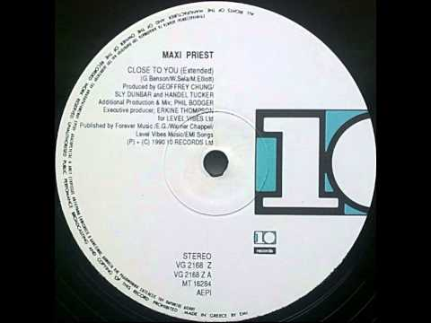 Maxi Priest - Close To You (12'' Extended Version)