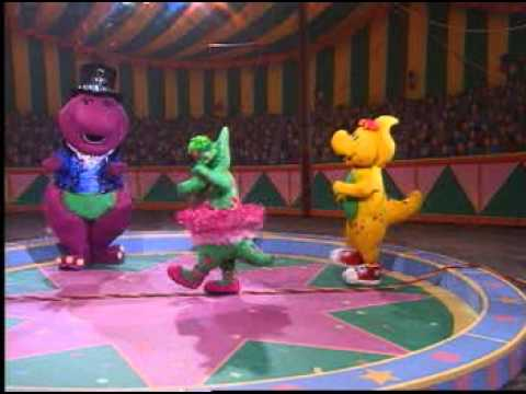 Barney Adventure Bus - Baby Bop Hop Song