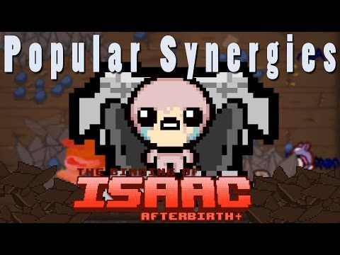 The Binding of Isaac Afterbirth Plus | Rocky Hearts | Popular Synergies!