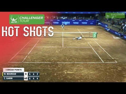 Garin Falls Into Volley Hot Shot In Santiago 2018