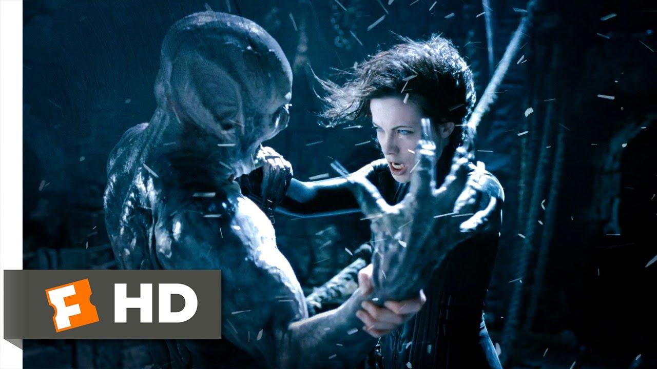 Underworld: Evolution (10/10) Movie CLIP - Battling the ...