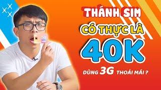 """Giải mã """"THÁNH SIM"""": Có thật là 40k dùng 3G thoải mái?"""