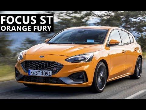 2020 Ford Focus ST Hot Hatch in Orange Fury