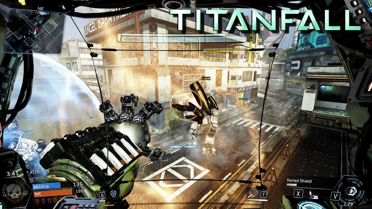 TITANFALL: Kill Everything!!! - TITAN WAR - Titanfall Multiplayer ...