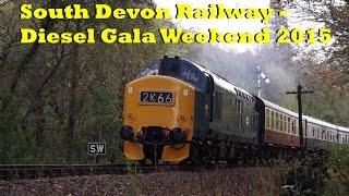 South Devon Railway - Diesel Gala Weekend, 07/11/2015