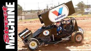 Garth Tander tries 900hp sprintcar - and we ride in the LS-powered version