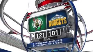 Boston Celtics Vs Denver Nuggets - February 21, 2016