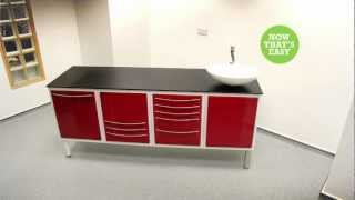 Tavom Dental Cabinets / Medical Cabinets Easy Installation Guide By Tavom Uk