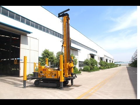 JDL 300 DTH drilling rig at domestic site