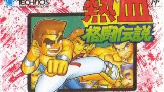 Nekketsu Kakutou Densetsu - Легендарный Турнир Неккецу [NES / Dendy / RUS] 720p