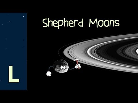Shepherd Moons: The Universe's Original Ring Forgers