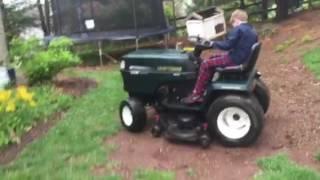 Riding Mower Craftsman Dgt 6000 Part 1 Not Sounding Good