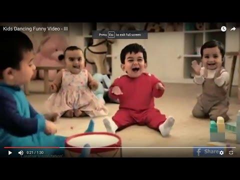 Kids Dancing Funny Video - III