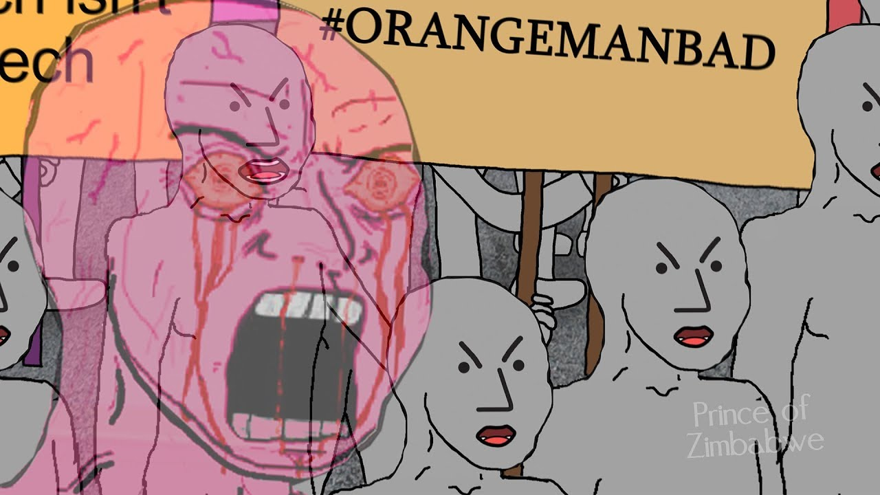 Image result for orange man bad