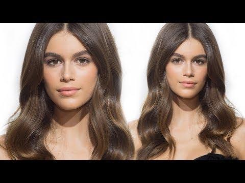 Kaia Gerber Inspired Natural Glow Makeup | Eman