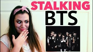 FIRST TIME REACTING TO BTS MP3