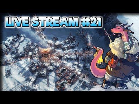 Storm on the Horizon – Frostpunk Gameplay – Live Stream Part 21
