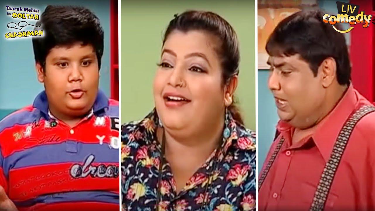 क्या जानना चाहते हैं कोमल और हाथी? | तारक मेहता का उल्टा चश्मा | Tapu Sena Special
