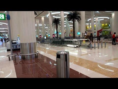 Arrival at Dubai Airport - DXB  Terminal 3