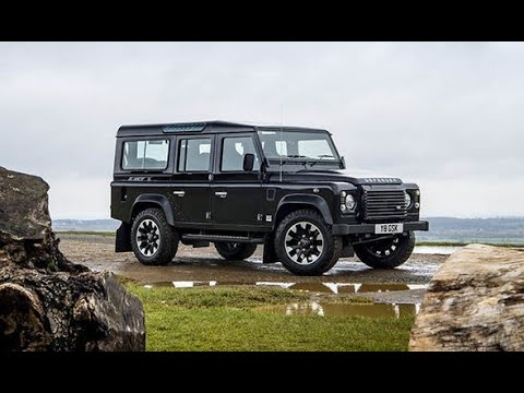 New Land Rover Defender Works V8 2018 REVIEW - Is this a new future classic car?