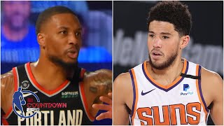 Has Lillard or Booker been more impressive in the bubble? | NBA Countdown
